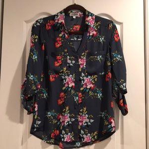 Express Slim Fit Portafino Shirt